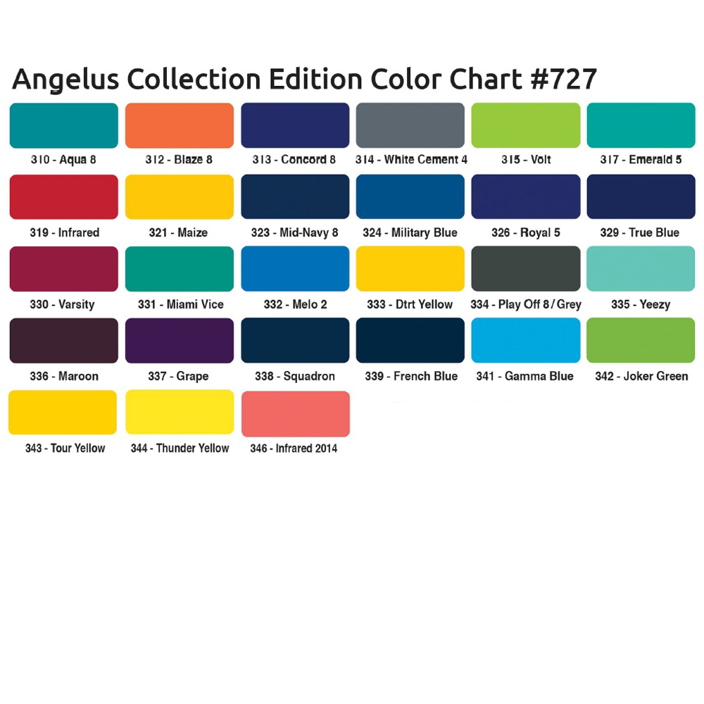 Angelus Collector Farbkarte