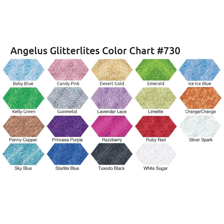 Tabella Colori Angelus Glitterlites Brillantini