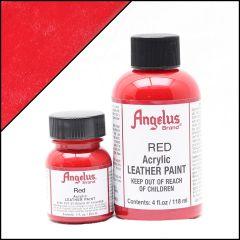 Vernice per pelle Angelus Rosso