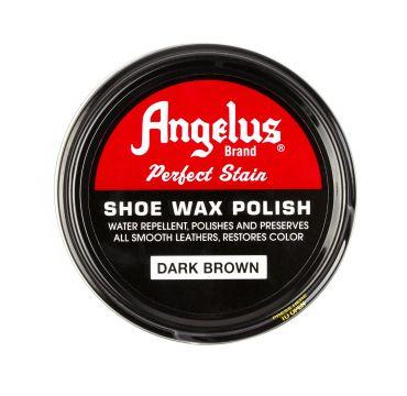 Angelus cera per scarpe marrone scuro 75 g