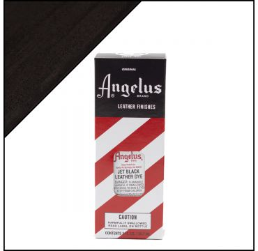 Angelus Leather Dye tintura per pelli Jet Black 88ml