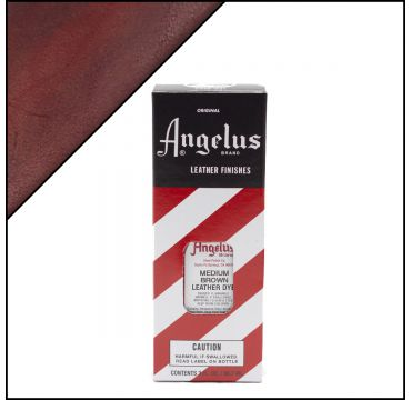 Angelus Leather Dye tintura per pelli Medium Braun 88ml