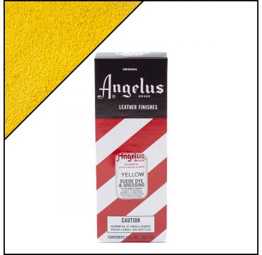 Angelus Suede Dye  per pelli scamosciate Giallo 88ml