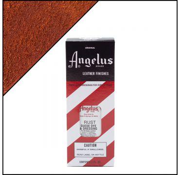 Angelus Suede Dye per pelli scamosciate Rust (ruggine) 88ml