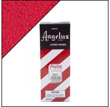 Angelus Suede Dye per pelli scamosciate Rosso 88ml