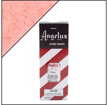 Angelus Suede Dye per pelli scamosciate Pink 88ml