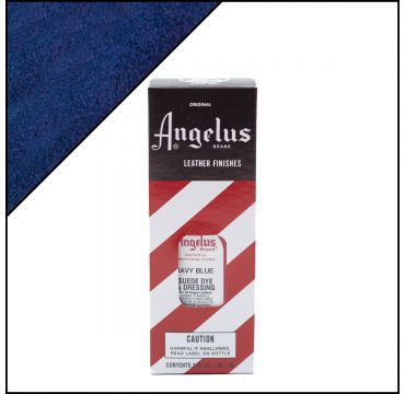 Angelus Suede Dye per pelli scamosciate Blu marino 88ml