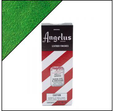Angelus Suede Dye per pelli scamosciate  Kelly Green 88ml