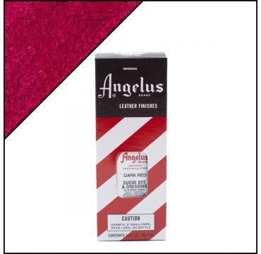 Angelus Suede Dye per pelli scamosciate Rosso scuro 88ml
