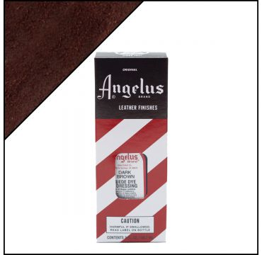 Angelus Suede Dye per pelli scamosciate Marrone scuro 88ml