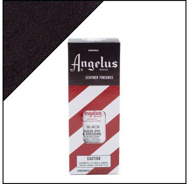 Angelus Suede Dye per pelli scamosciate Nero 88ml