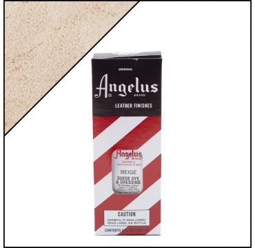 Angelus Suede Dye per pelli scamosciate Beige 88ml
