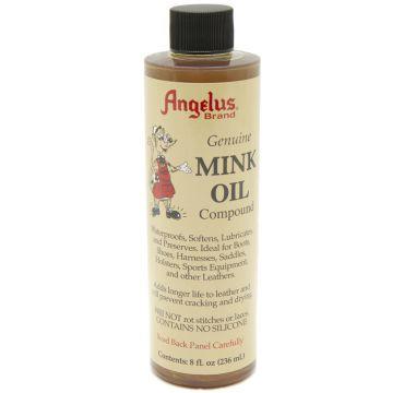 Crema lucidante  per scarpe Angelus Oil Mink  236ml