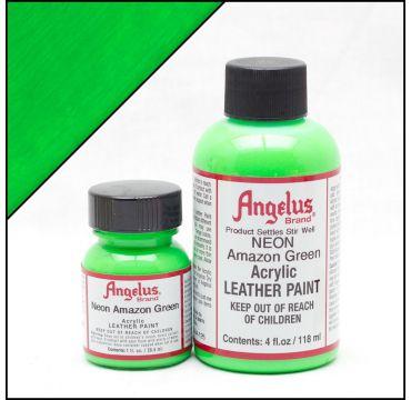 Vernice per pelle Angelus Verde Amazzonia