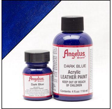 Vernice per pelle Angelus Blu scuro