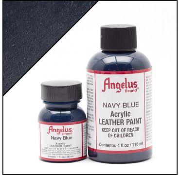 Vernice per pelle Angelus Blu marino
