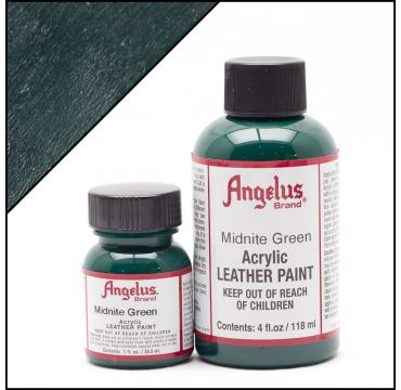 Vernice per pelle Angelus Midnight Green 29,5ml