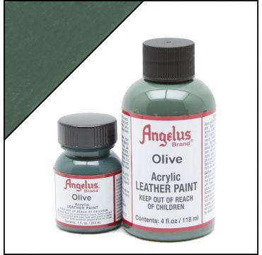 Vernice per pelle Angelus Verde oliva