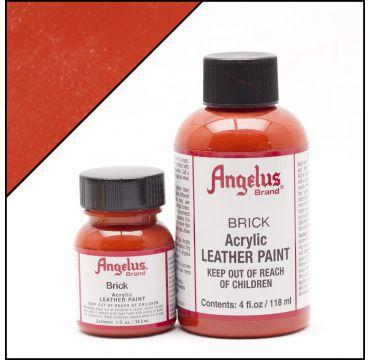 Vernice per pelle Angelus Rosso mattone