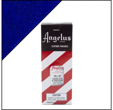 Angelus Suede Dye per pelli scamosciate Blu 88ml