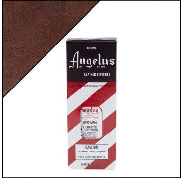 Angelus Suede Dye per pelli scamosciate Marrone 88ml