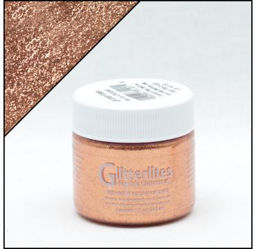 Angelus brillantini Glitterlites Penny Copper 29,5ml